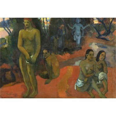 Puzzle Grafika-Kids-01305 Paul Gauguin: Te Pape Nave Nave (Delectable Waters), 1898