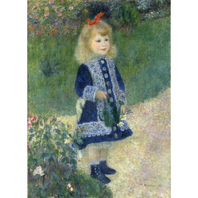 Puzzle Grafika-Kids-01322 Auguste Renoir : A Girl with a Watering Can, 1876
