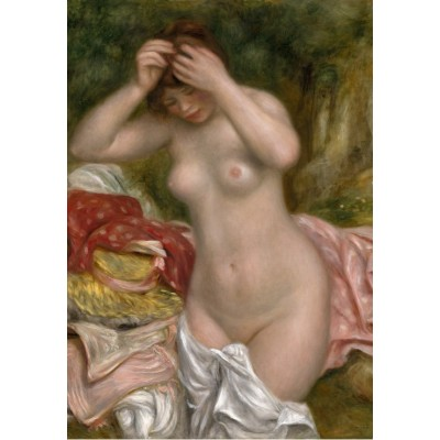 Puzzle Grafika-Kids-01328 Auguste Renoir: Bather Arranging Her Hair, 1893