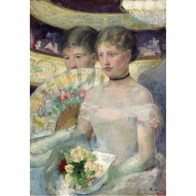Puzzle Grafika-Kids-01340 Mary Cassatt: The Loge, 1882