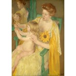 Puzzle  Grafika-Kids-01341 Mary Cassatt: Mother and Child, 1905