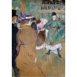 Puzzle  Grafika-Kids-01365 Henri de Toulouse-Lautrec: Quadrille at the Moulin Rouge, 1892