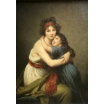 Puzzle  Grafika-Kids-01481 Elisabeth Vigée-Lebrun: Madame Vigée-Lebrun and her daughter, 1789