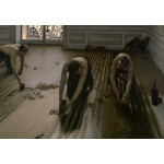 Puzzle  Grafika-Kids-01493 Gustave Caillebotte: The Floor Planers, 1875