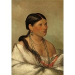 Puzzle  Grafika-Kids-01500 George Catlin: The Female Eagle - Shawano, 1830