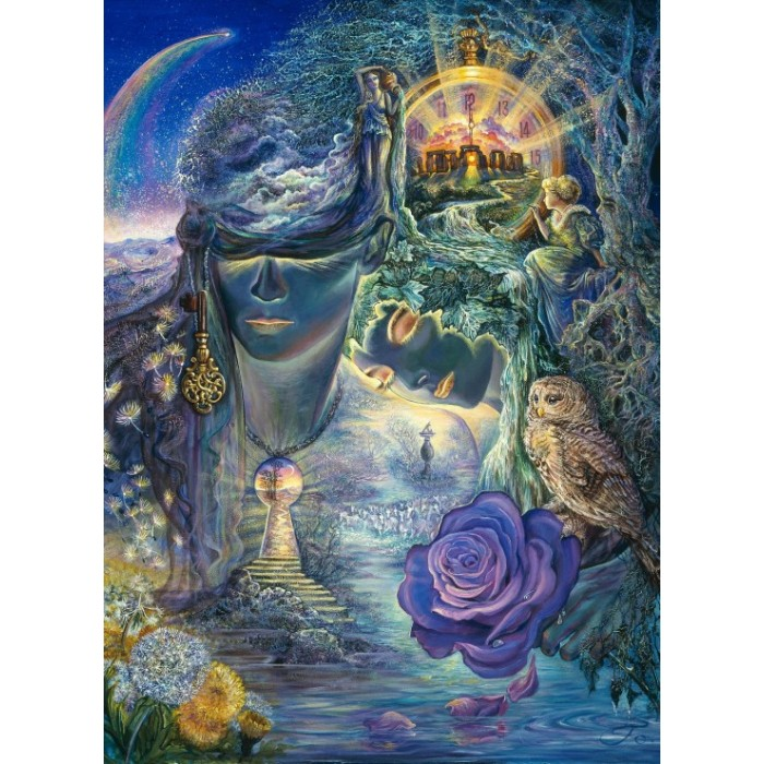 Josephine Wall - Key to Eternity