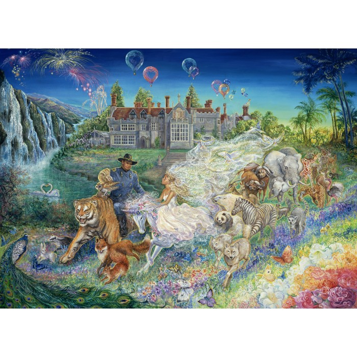 Josephine Wall - Fantasy Wedding