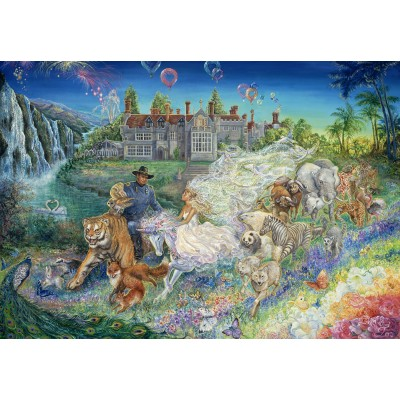 Puzzle Grafika-Kids-01548 Josephine Wall - Fantasy Wedding