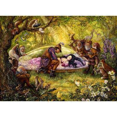 Puzzle Grafika-Kids-01551 Josephine Wall - Snow White