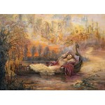 Puzzle  Grafika-Kids-01553 Josephine Wall - Dreams of Camelot