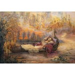 Puzzle  Grafika-Kids-01554 Josephine Wall - Dreams of Camelot