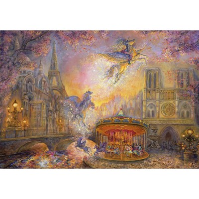 Puzzle Grafika-Kids-01562 Josephine Wall - Magical Merry Go Round