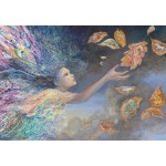 Puzzle  Grafika-Kids-01580 Josephine Wall - Catching Wishes