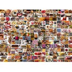 Puzzle  Grafika-Kids-01611 Collage - Kuchen