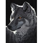 Puzzle  Grafika-Kids-01700 Schim Schimmel - Night Wolf