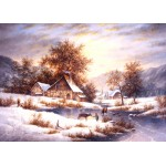 Puzzle  Grafika-Kids-01858 Dennis Lewan - Amber Sky Of Winter