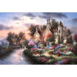 Puzzle  Grafika-Kids-01879 XXL Teile - Dennis Lewan - Mill Creek Manor