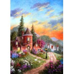 Puzzle  Grafika-Kids-01903 Dennis Lewan - Castle Ridge Manor