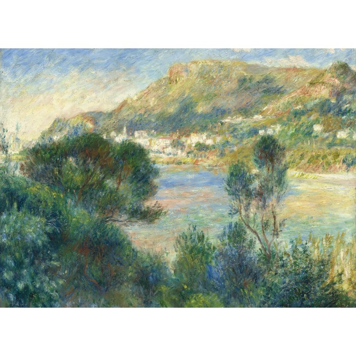 Auguste Renoir - View of Monte Carlo from Cap Martin