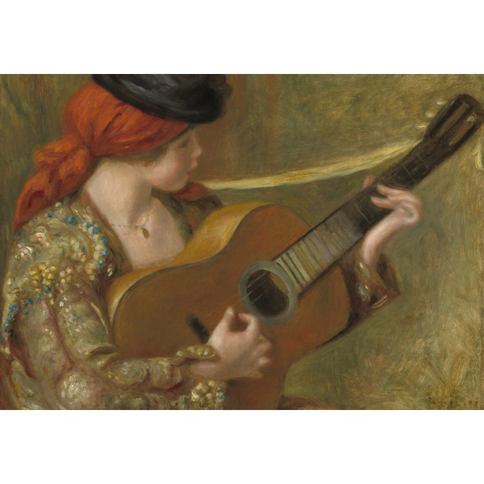 Auguste Renoir - Young Spanish Woman with a Guitar
