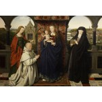 Puzzle   Jan van Eyck - Virgin and Child, with Saints and Donor, 1441