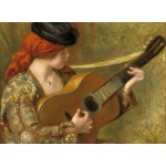 Puzzle   Auguste Renoir: Young Spanish Woman with a Guitar, 1898