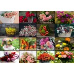 Puzzle   Collage - Blumen