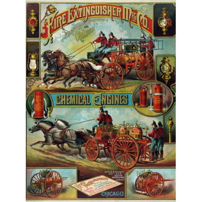Puzzle Grafika-00086 Chemical Engines