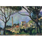 Puzzle  Grafika-00131 Paul Cézanne: Vue de l'Estaque