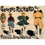 Puzzle  Grafika-00137 Cycles Georges Richard, 1896