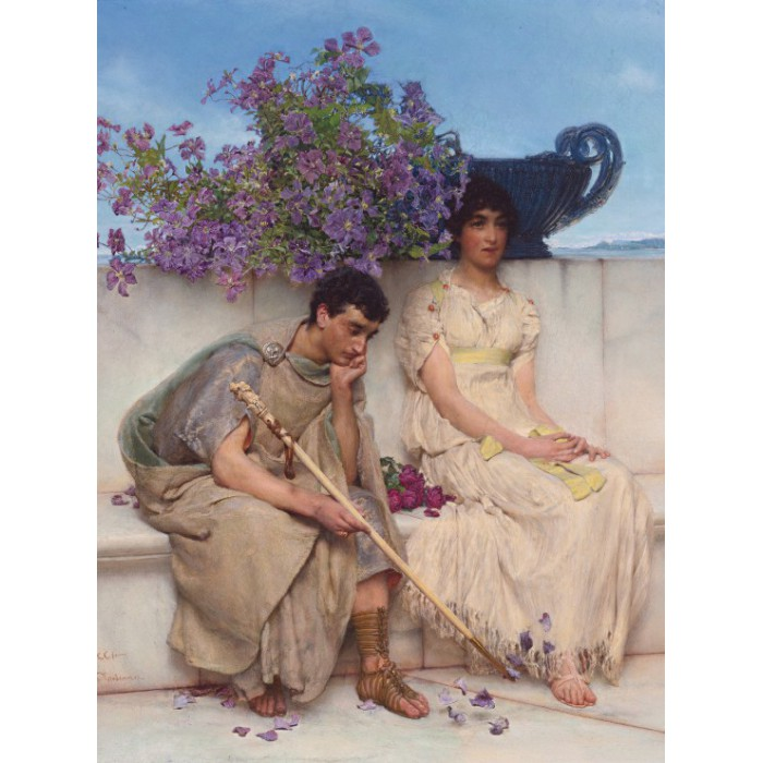 Sir Lawrence Alma-Tadema: An eloquent silence