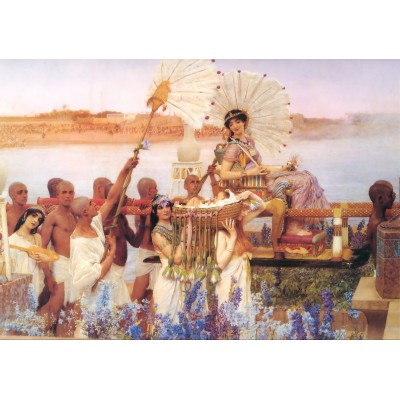 Puzzle Grafika-00169 Sir Lawrence Alma-Tadema: The Finding of Moses