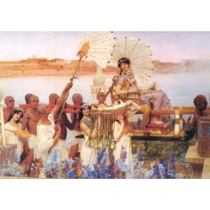 Sir Lawrence Alma-Tadema: The Finding of Moses