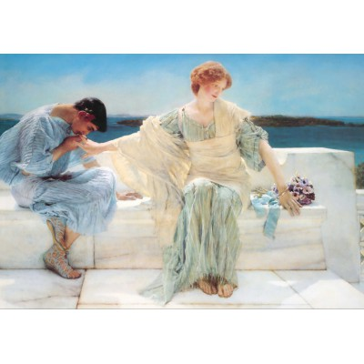Puzzle Grafika-00174 Sir Lawrence Alma-Tadema: Ask me no more, 1906