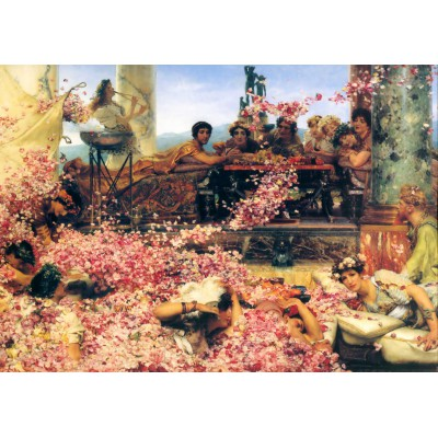 Puzzle Grafika-00176 Sir Lawrence Alma-Tadema: The Roses of Heliogabalus