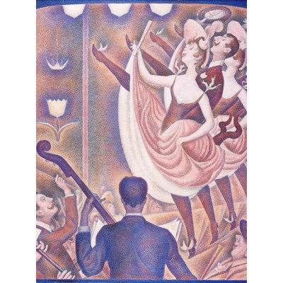 Puzzle Grafika-00191 Georges Seurat: Can Can (Le Chahut), 1890