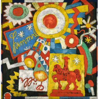 Puzzle Grafika-00246 Marsden Hartley: Himmel, 1914-1915