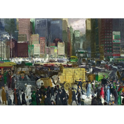 Puzzle Grafika-00289 George Bellows: New York, 1911