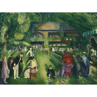Puzzle Grafika-00291 George Bellows: Tennis at Newport, 1920