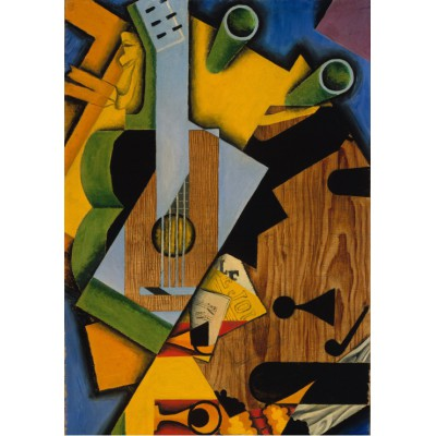 Puzzle Grafika-00293 Juan Gris: Still Life with a Guitar, 1913