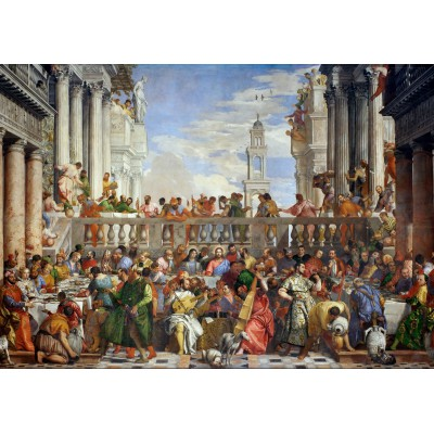 Puzzle Grafika-00304 Paolo Veronese: The Wedding at Cana, 1563