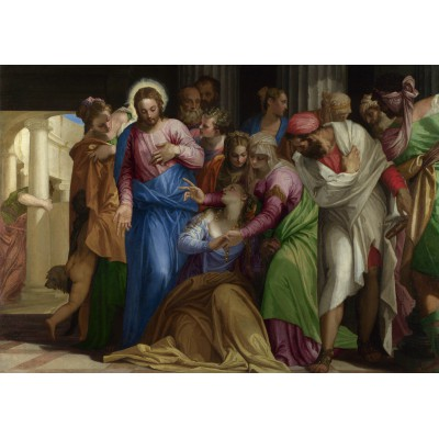 Puzzle Grafika-00308 Paolo Veronese: The Conversion of Mary Magdalene, 1548