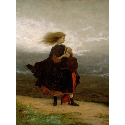Puzzle Grafika-00328 Jonathan Eastman Johnson: The Girl I Left Behind Me, 1870-1875
