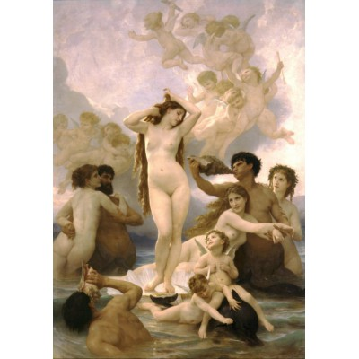 Puzzle Grafika-00397 William Bouguereau: La Naissance de Vénus, 1879
