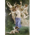 Puzzle  Grafika-00398 William Bouguereau: Invitation, 1893