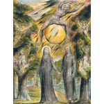 Puzzle  Grafika-00525 William Blake: The Sun in His Wrath, 1816-1820