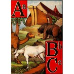 Puzzle  Grafika-00560 McLoughlin Bros: The Ark alphabet, 1868