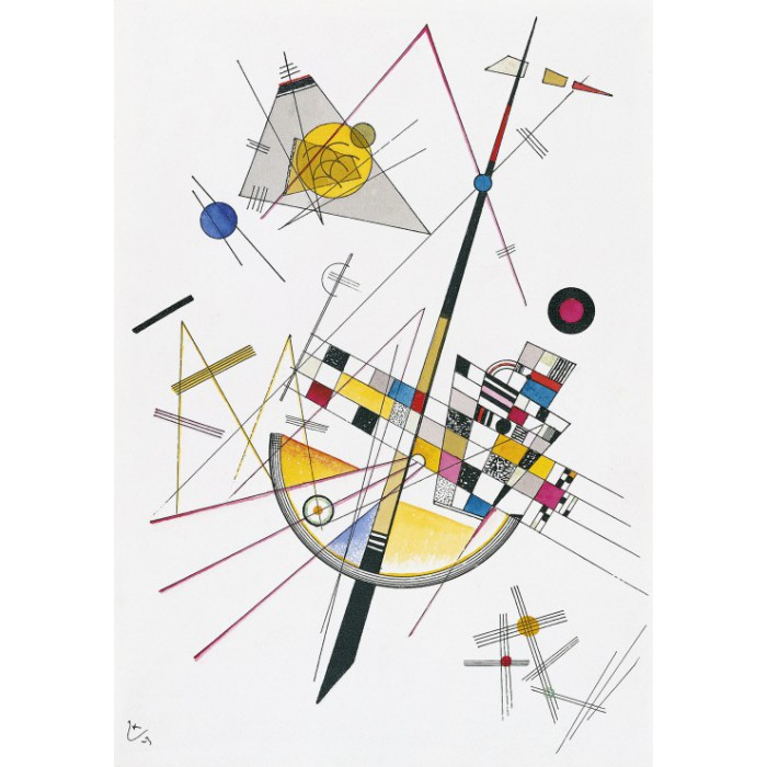 Wassily Kandinsky: Delicate Tension, 1923