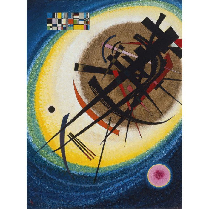 Wassily Kandinsky: In the Bright Oval, 1925