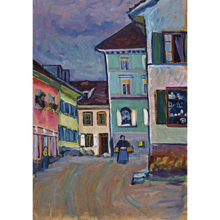Wassily Kandinsky: Murnau, Top of the Johannisstrasse, 1908